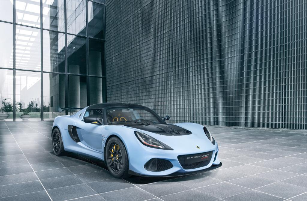 LOTUS LAUNCHES THE NEW EXIGE SPORT 410
