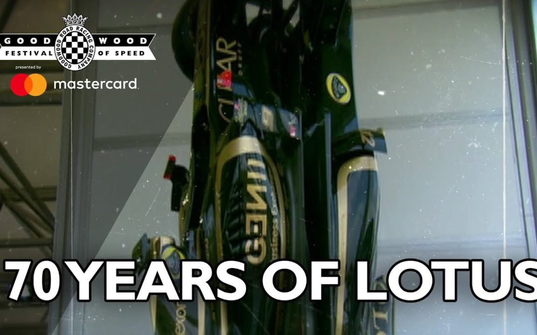 70 years of Lotus celebrated at FOS